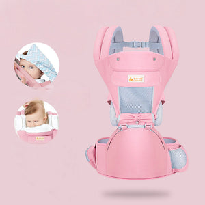 Baby Waist Stool and Belt With Multi-Function Breathable Holding Baby Bag