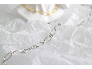 Women's 925 Sterling Silver Link Necklaces Chain For Birthday Anniversary Gift