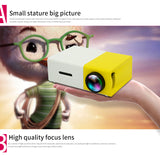 Mini Projector, Home Portable Projector LED HD Video Projector for Children,Video TV Movie