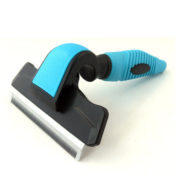 Pet Grooming Brush Effectively Reduces Shedding,Professional Deshedding Tool for Dogs and Cats
