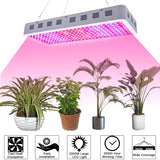 3000W LED Grow Light Full Spectrum for Greenhouse and Indoor Plant Veg and Flower ( Dual-Chip10w LEDs)