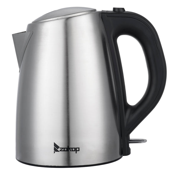 [US Standard] ZOKOP HD-1608 110V 1500W 1.8L Stainless Steel Electric Kettle