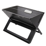 Portable Barbecue Charcoal Grill, Smoker Grill Tools Stainless Steel, Ultralight Foldable Grill Easy to Setup