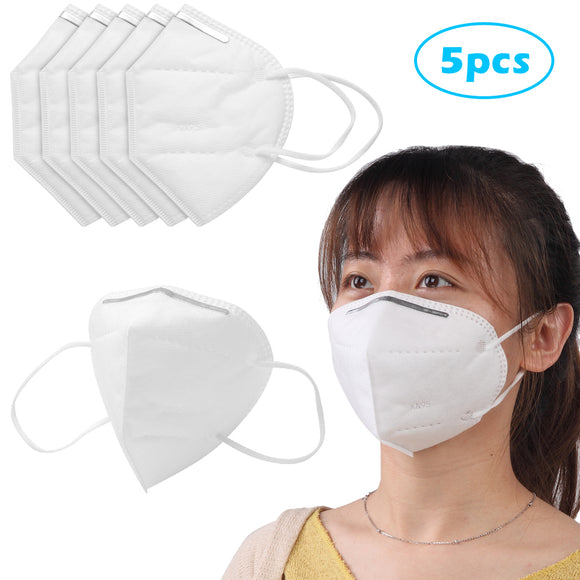 Disposable KN95 Face Mask , Dimensional Protection PM2.5, Breathable Mask 20PCS