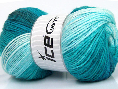 Ice Yarns Magic Light Turquoise Shades