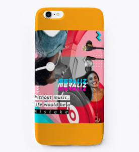 MUSIC iphone 7 phone case