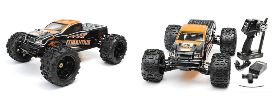 monster truck maximus telecommande