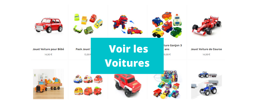 collection voiture jouet