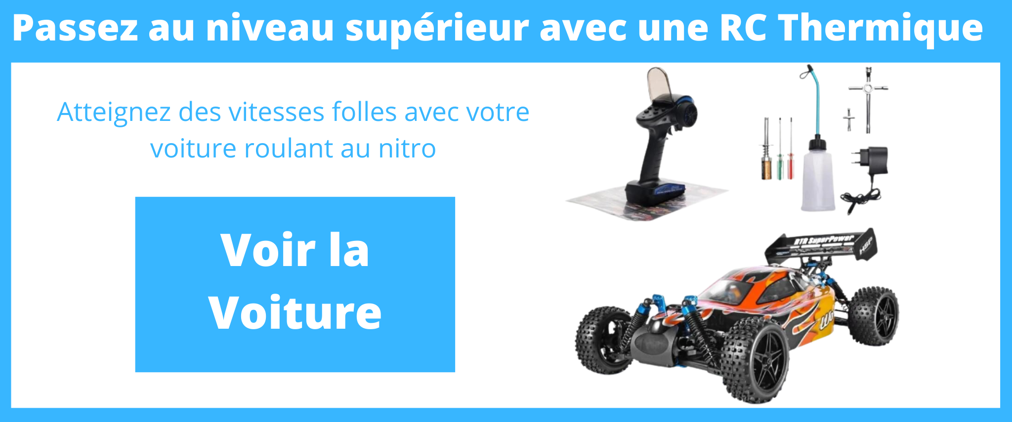 voiture rc à essence