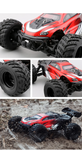 monster truck rc rouge