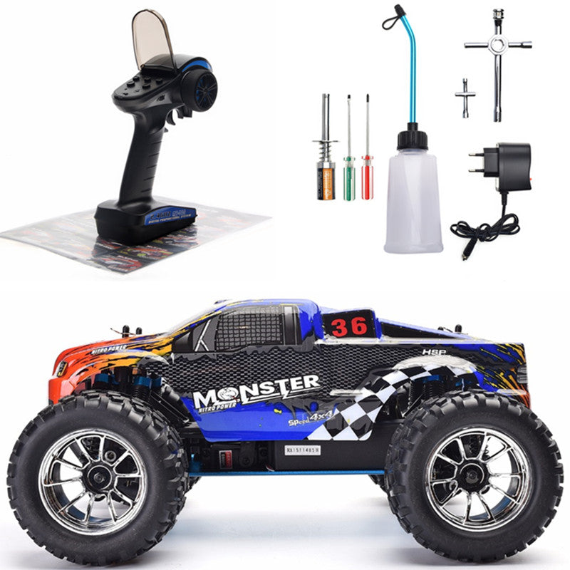 monster truck rc thermique