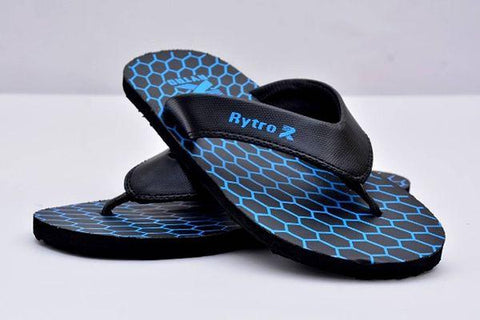 Comfortable Black Fabric Slippers For Men