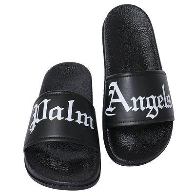 Men's Stylish Black Flip Flops