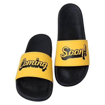Men's Stylish Yellow Flip Flops