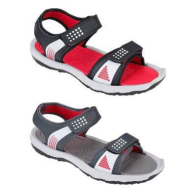 Men's Stylish and Trendy Multicoloured Solid Synthetic Casual Sandals (Pack of 2)