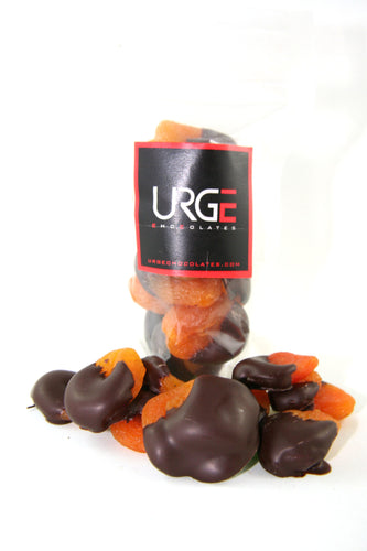 Dark Chocolate dipped dried apricots