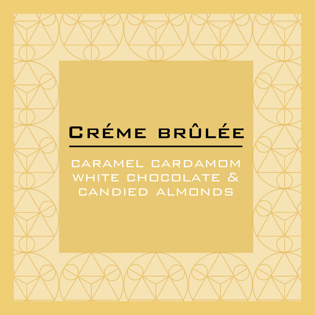 Créme Brûlée pocket chocolate bar