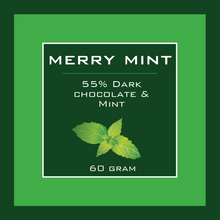 Load image into Gallery viewer, Merry Mint Pocket Chocolate Bar