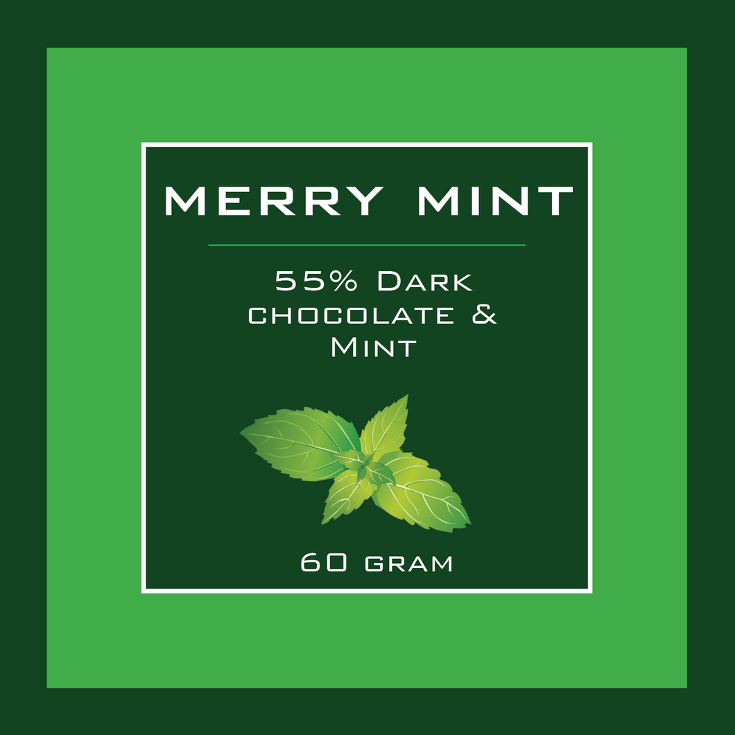 Merry Mint Pocket Chocolate Bar