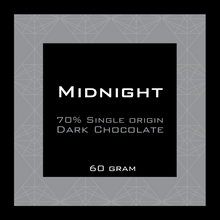Load image into Gallery viewer, Midnight 70% Dark Chocolate Pocket Bar