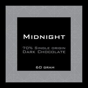 Midnight 70% Dark Chocolate Pocket Bar