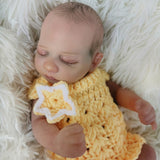 Christian: Premium Material Closed Eyes Reborn Baby Doll Boy - Newborn Doll
