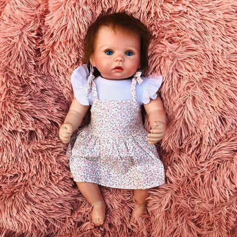 Hardy Sunshine: Light-colored skin Cuddle Reborn Baby Girl - Kiss Reborn