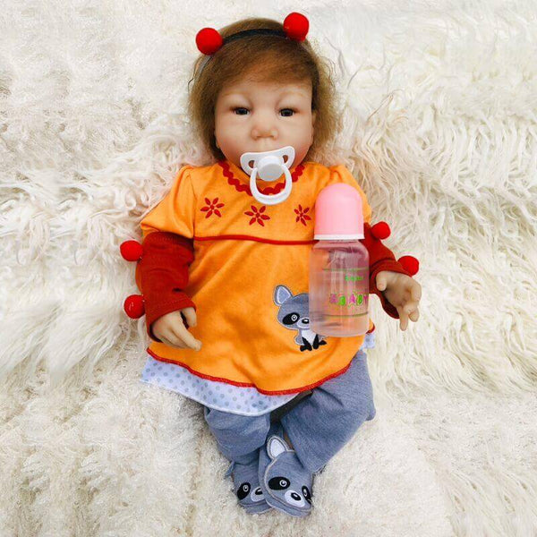 Eddie: Chubby Face Toddler Baby Doll - Newborn Doll