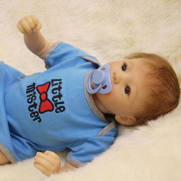 Ivor: Rosy Cheeks Mixed Realistic Reborn Boy - Newborn Doll