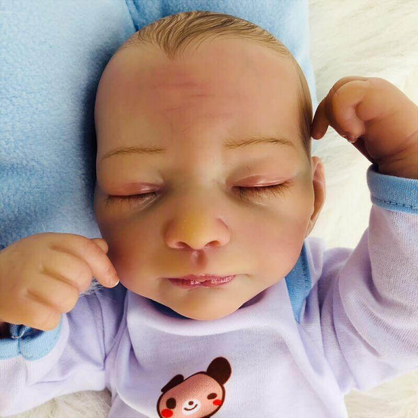 Killian Sirius: Perfect Realistic Premium Cloth Body Baby Doll Boy - Kiss Reborn
