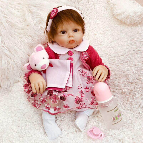 20 Inches Lovely Baby Girl Doll Natasha - Newborn Doll