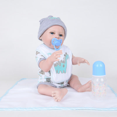 King: The Newest Realistic Blue Eyes Doll Boy - Newborn Doll
