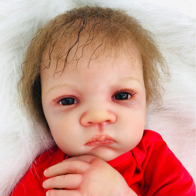 Mateo: Blue Eyes Lifelike Grow Up Reborn Doll Boy - Kiss Reborn