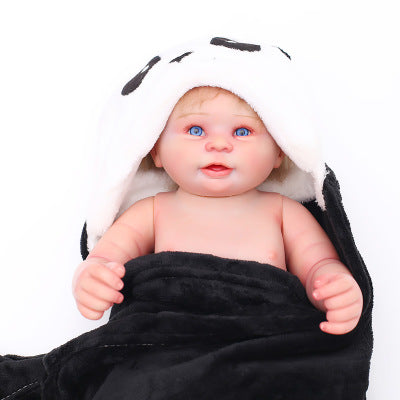 Pearl: Majestic Smiling Reborn Sweet Real Baby Doll Boy - Newborn Doll