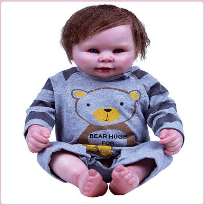 Carl: Amazing Realistic Full Silicone Reborn Baby Doll Boy - Newborn Doll