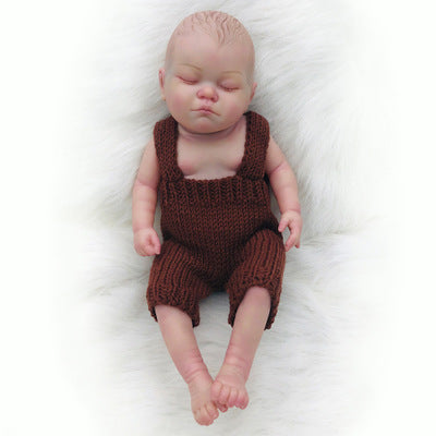 "Camila: 20"" Real Human Baby Full Body Silicone Doll Girl - Newborn Doll"
