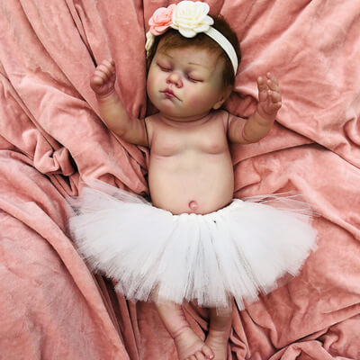Audrey: Truly Realistic-looking Reborn Infant Doll - Kiss Reborn