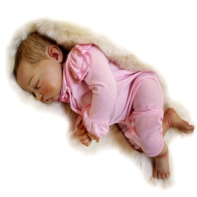Tina: 1.18 KG New Arrival Realistic Feel Newborn Baby Doll Girl - Kiss Reborn