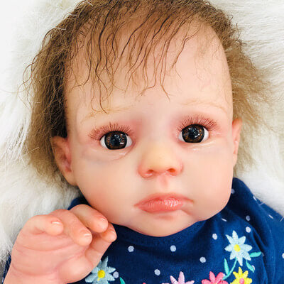 Louise: 20 Inch Realistic Sweet Reborn Toddler Girl Doll - Newborn Doll