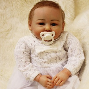"Penelope: 22"" Realistic Reborn Baby Doll Girl"