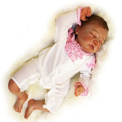 Mia: Soft Face Real Cuddle Baby Doll Girl - Newborn Doll