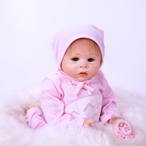"Damara: 20"" Pink Suit Toddler Doll Girl best Gift - Newborn Doll"