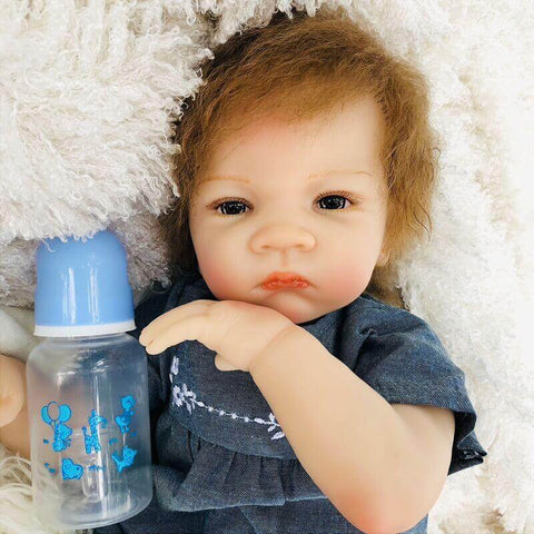Faustine: Starry Realistic Mixed Race Reborn Child Boy - Newborn Doll