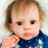 Idell: Partial Vinyl Perfect Realistic Reborn Baby Doll Boy - Newborn Doll