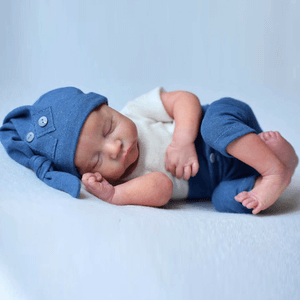Lucas: Lifelike Feel Sleeping Baby Doll Boy - Newborn Doll
