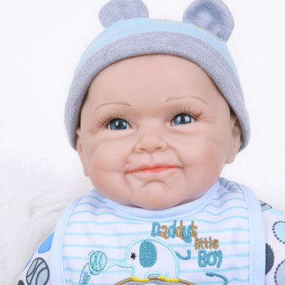 "Felix: 22"" Real-like Sparkling Blue Eyes Baby Boy - Newborn Doll"