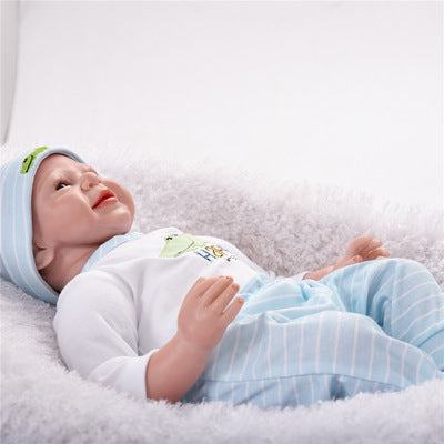 Drew: Soft Full Vinyl Sweet Reborn Baby Doll Boy - Newborn Doll