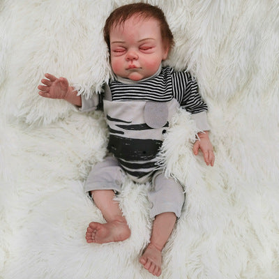 "Christ: 22"" Newborn Look Sleeping Reborn Baby Doll Boy - Newborn Doll"