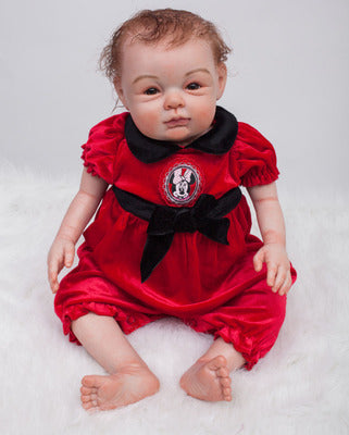 Nicole: 2 Years Old Magic Life-like Toddler Baby Girl Doll - Newborn Doll