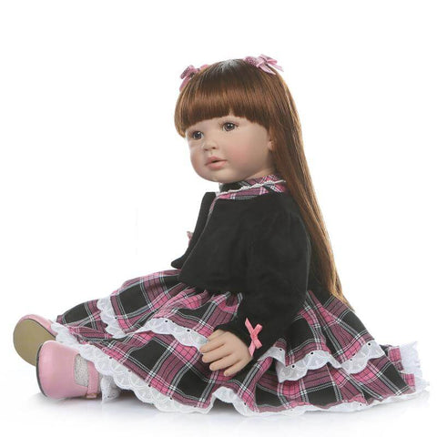 Adorable Lifelike Toddler Girl Doll Jasmine - Newborn Doll